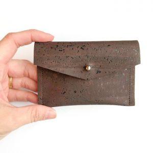 mini leather wallet - micaela flora