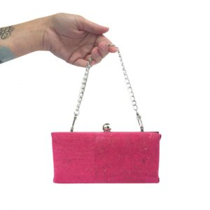 pink minaudiere