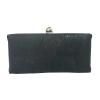 black minaudiere purse - micaela flora