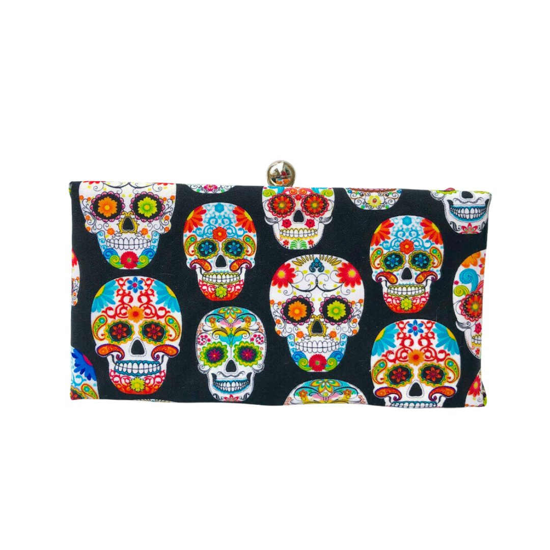fall purses – sugar skulls