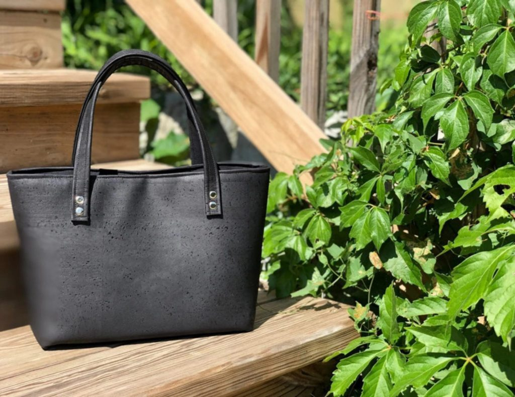 Micaela Flora - luxury cork handbags